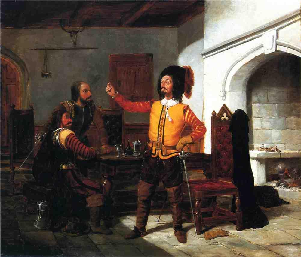 William Dodge as Pistol 1853 | Arthur Fitzwilliam Tait | Oil Painting