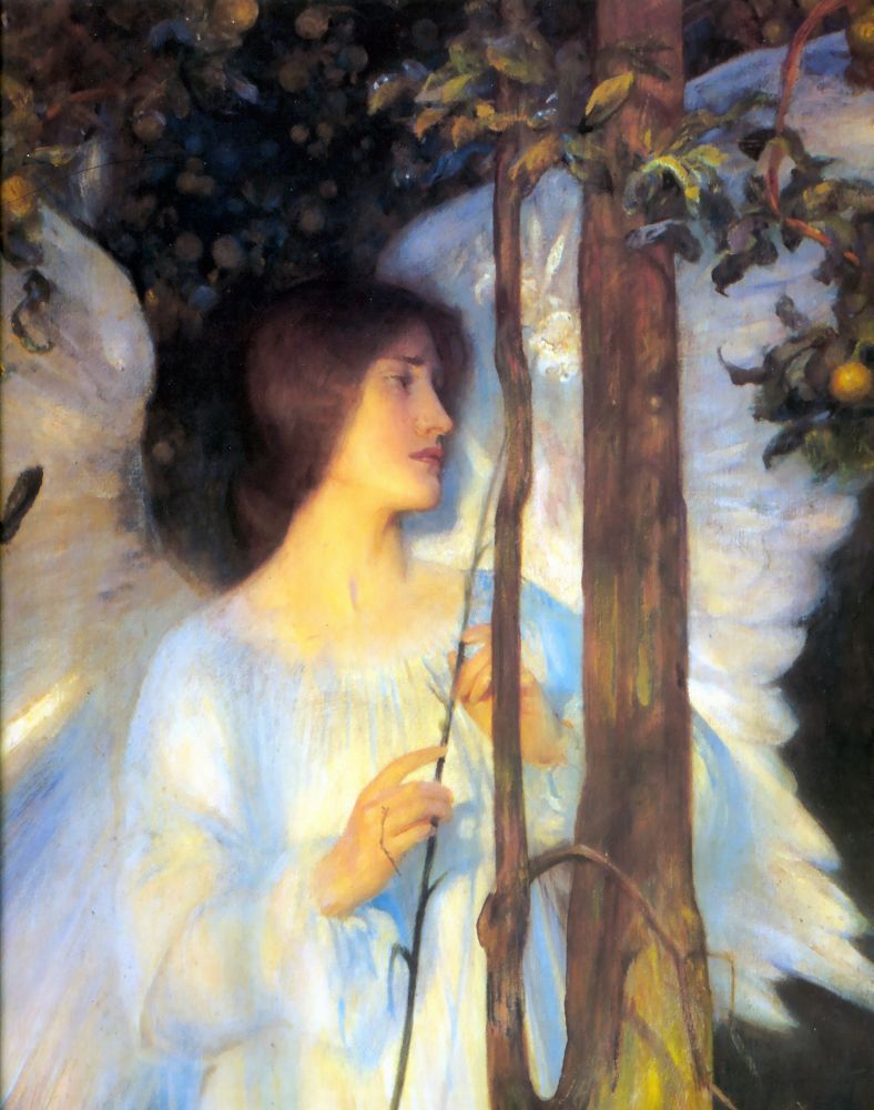 The Cloister Of The Bell | Arthur Hacker | Oil Painting