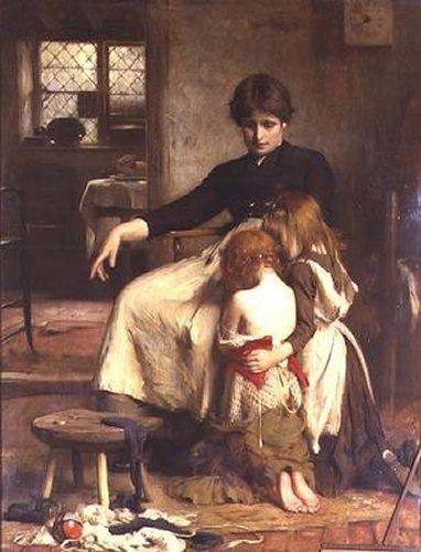 The Childrens Prayer | Arthur Hacker | Oil Painting