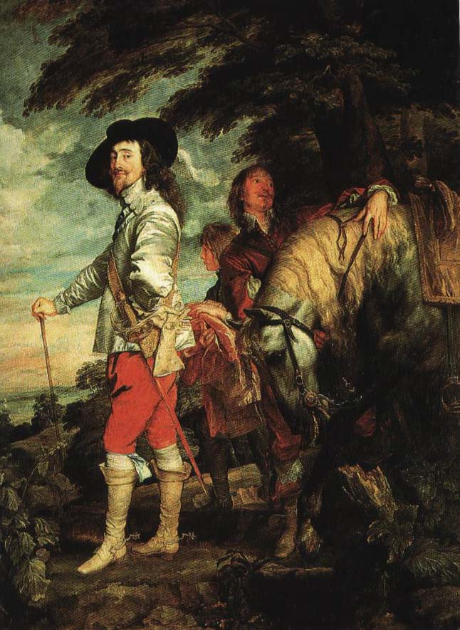 Portrait of Charles I Hunting | Anthony Van Dyck 1635 | Oil Painting