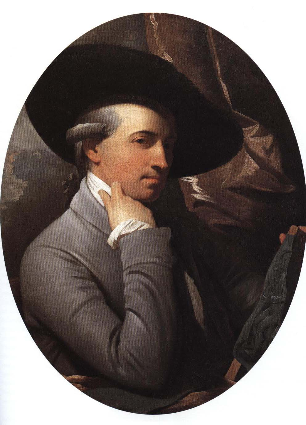 Self Portrait | Benjamin West 1770-1775 | Oil Painting