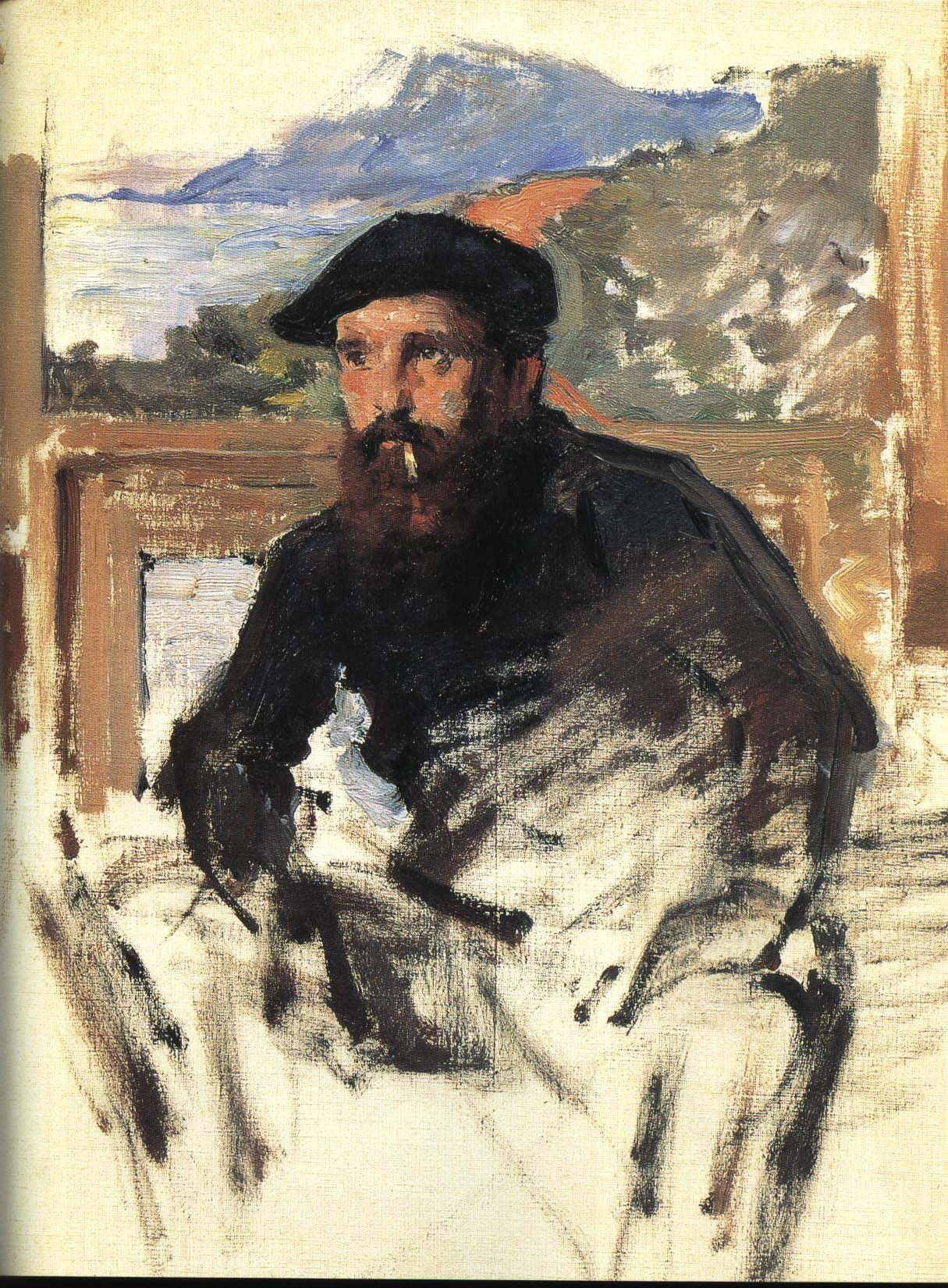 Self Portrait | Claude Monet 1884 | Oil Painting