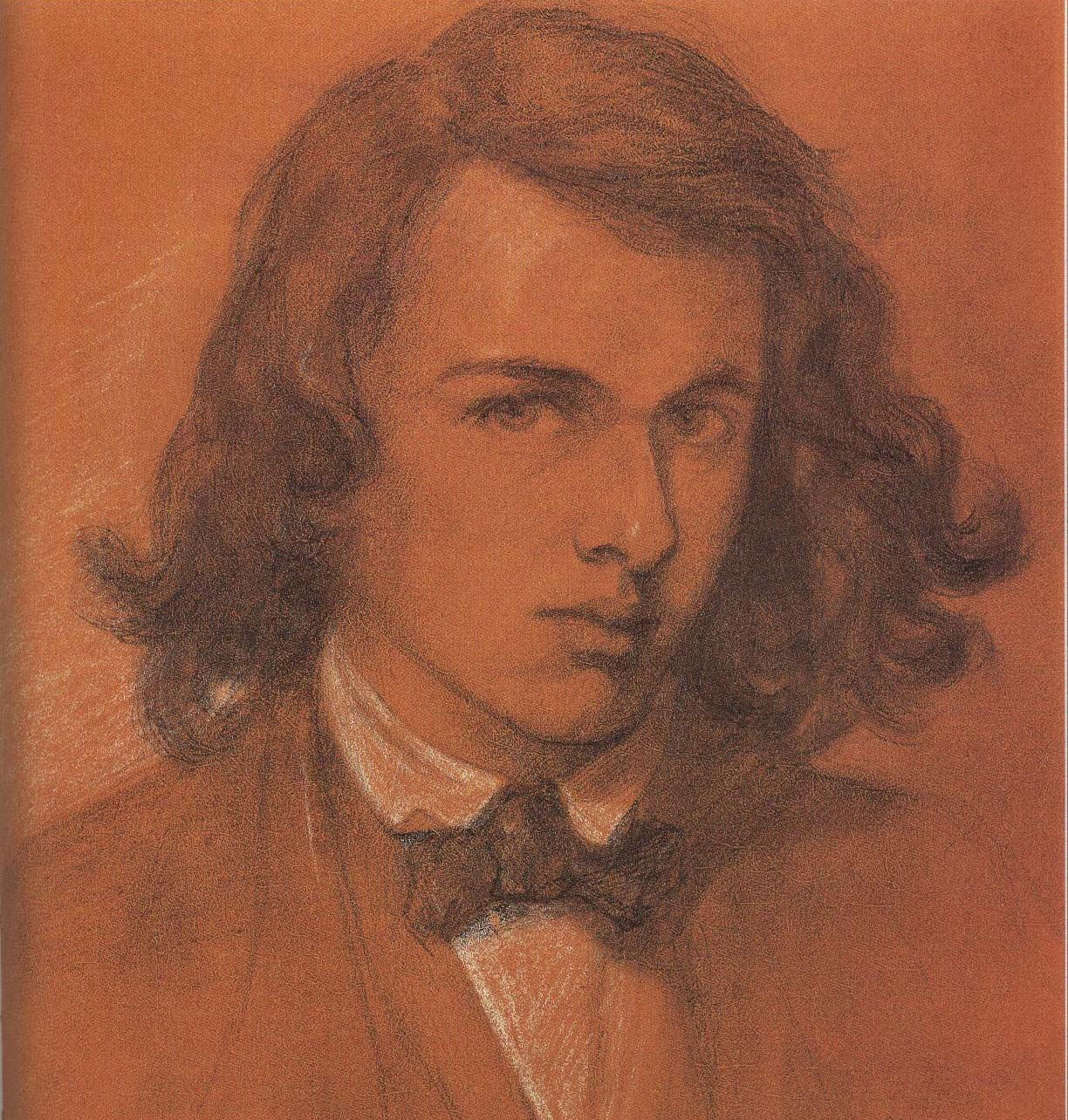 Self Portrait | Dante Gabriel Rossetti 1847 | Oil Painting