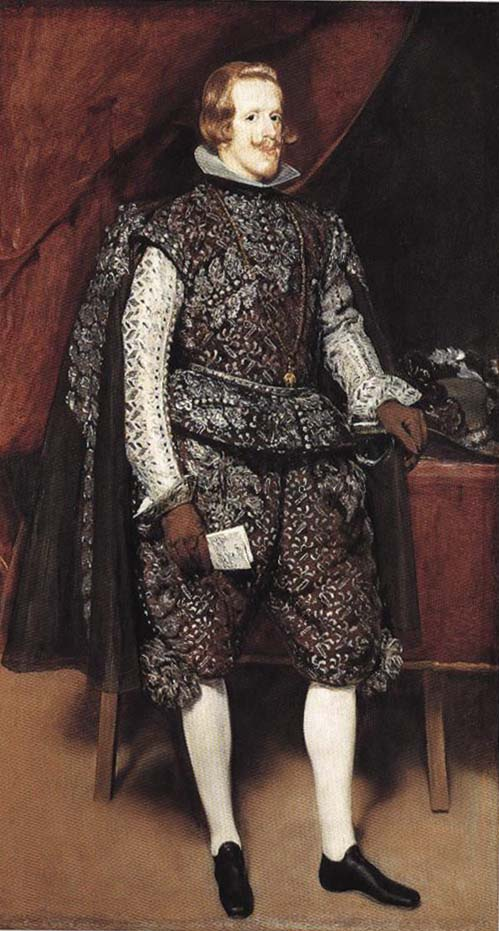 Portrait of Philip IV of Spain in Brown | Diego Velazquez | Oil Painting