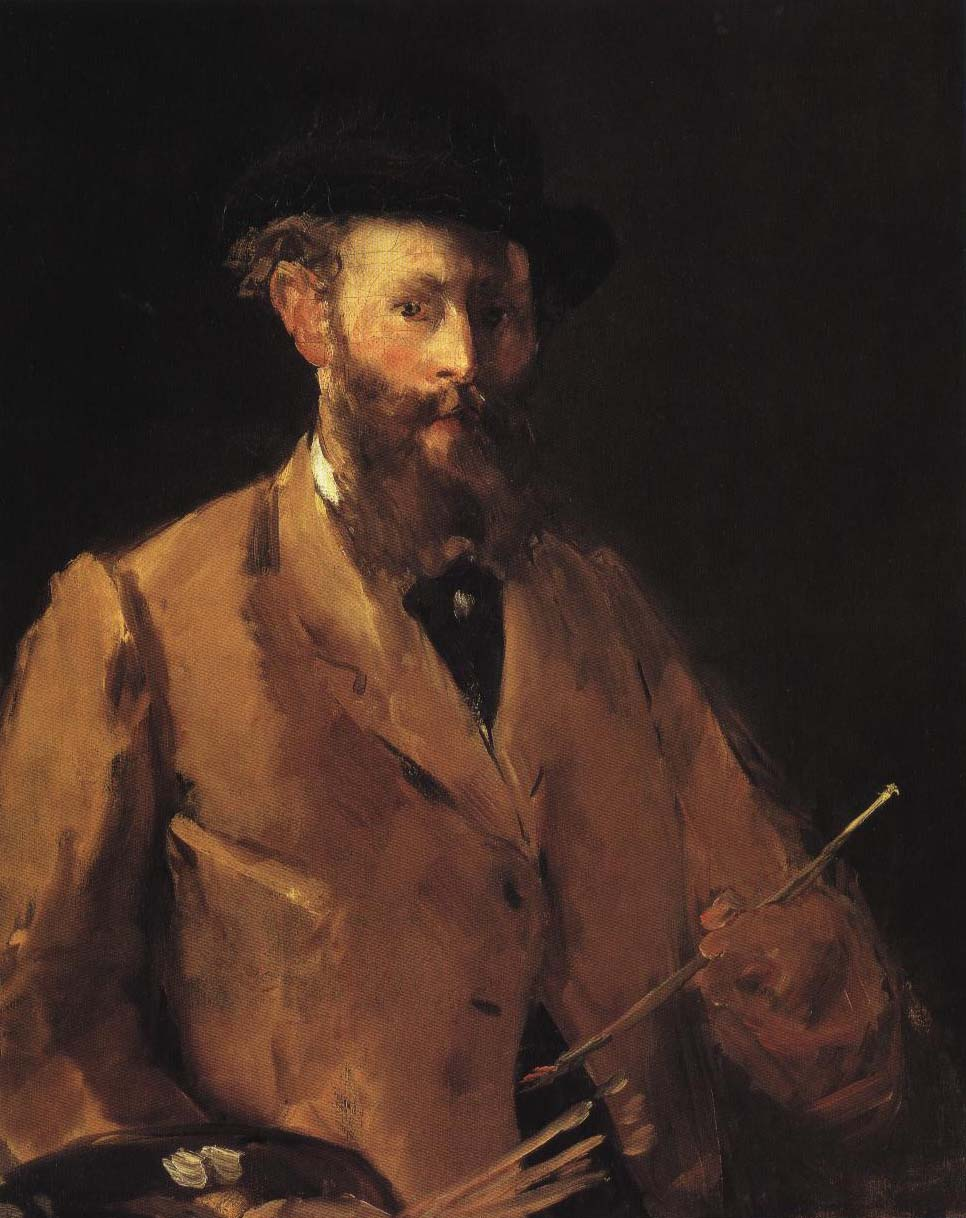 Self Portrait | Edouard Manet 1879 | Oil Painting