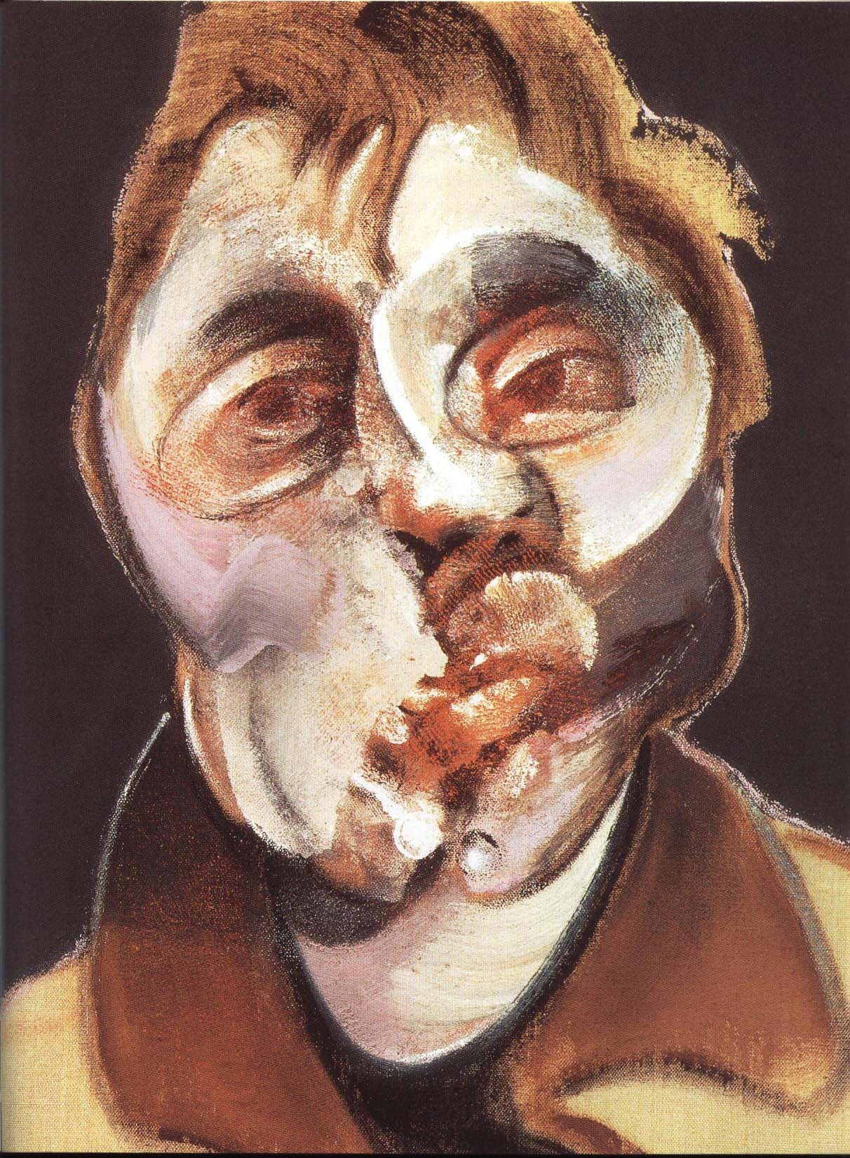 Self Portrait | Francis Bacon 1969 | Oil Painting
