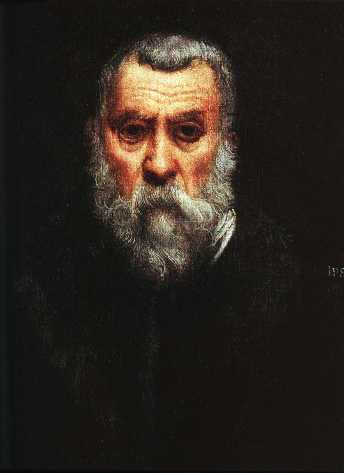 Self Portait | Jacopo Tintoretto 1588 | Oil Painting