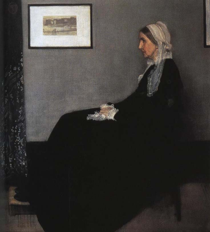 Arrangement in Gray and Black aka Whistler's Mother | James Abbott McNeill Whistler 1871 | Oil Painting