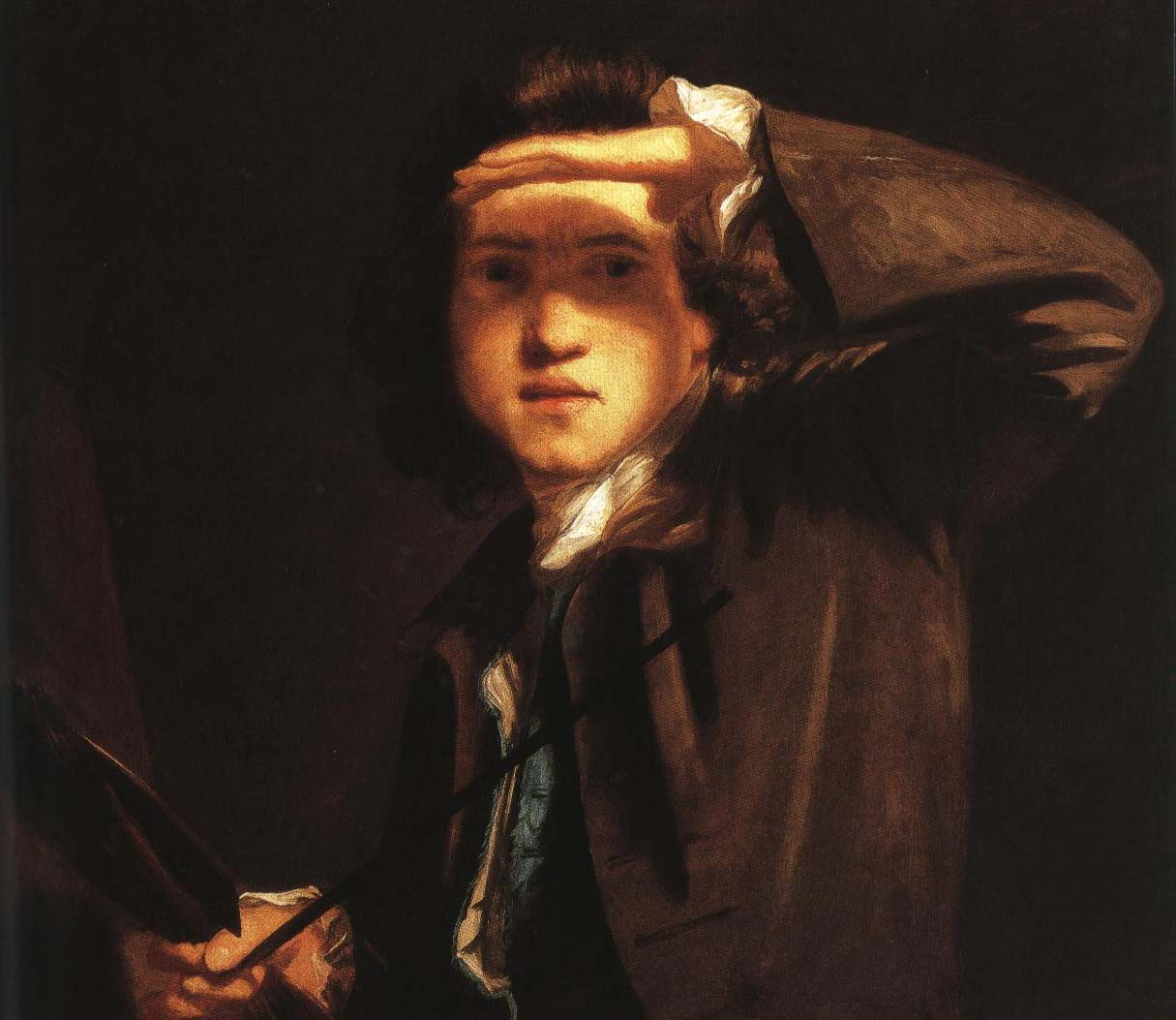 Self Portrait | Joshua Reynolds 1748 | Oil Painting