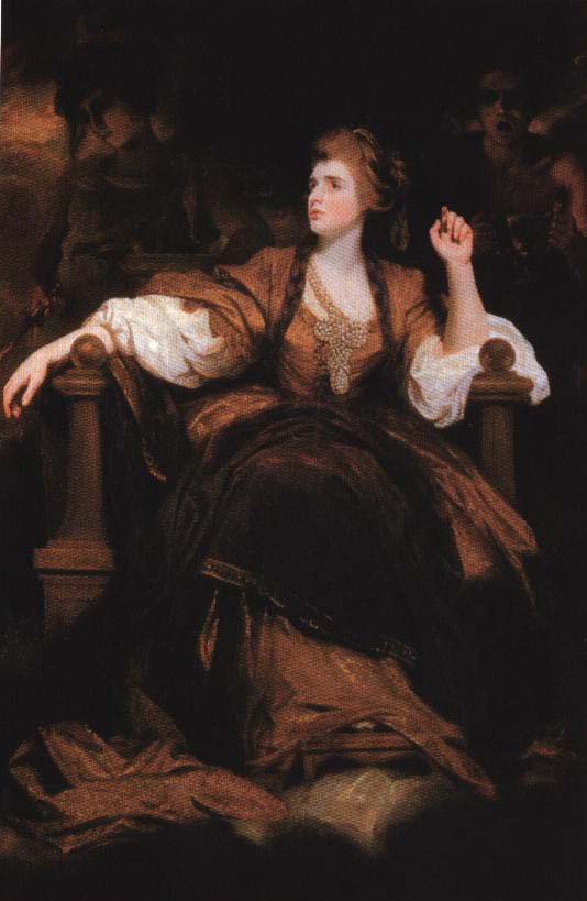 Mrs. Siddons as the Tragic Muse | Joshua Reynolds 1784 | Oil Painting