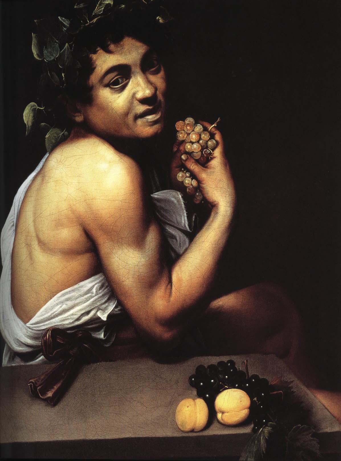 Self Portrait as Bacchus (Sick Bacchus) | Michelangelo Merisi Da Caravaggio 1594 | Oil Painting