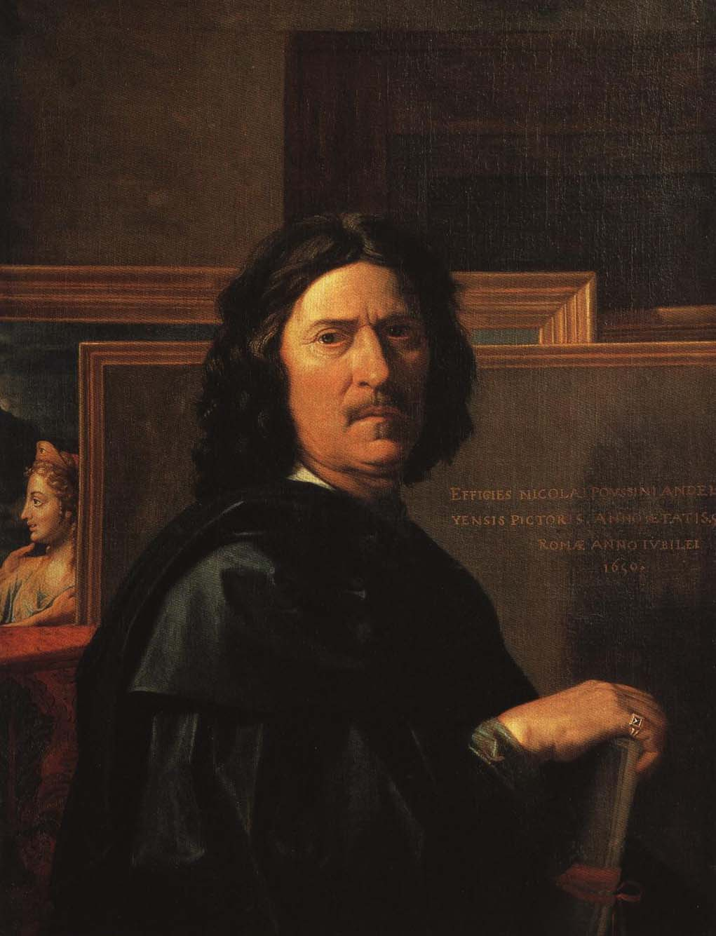 Self Portrait | Nicolas Poussin 1650 | Oil Painting