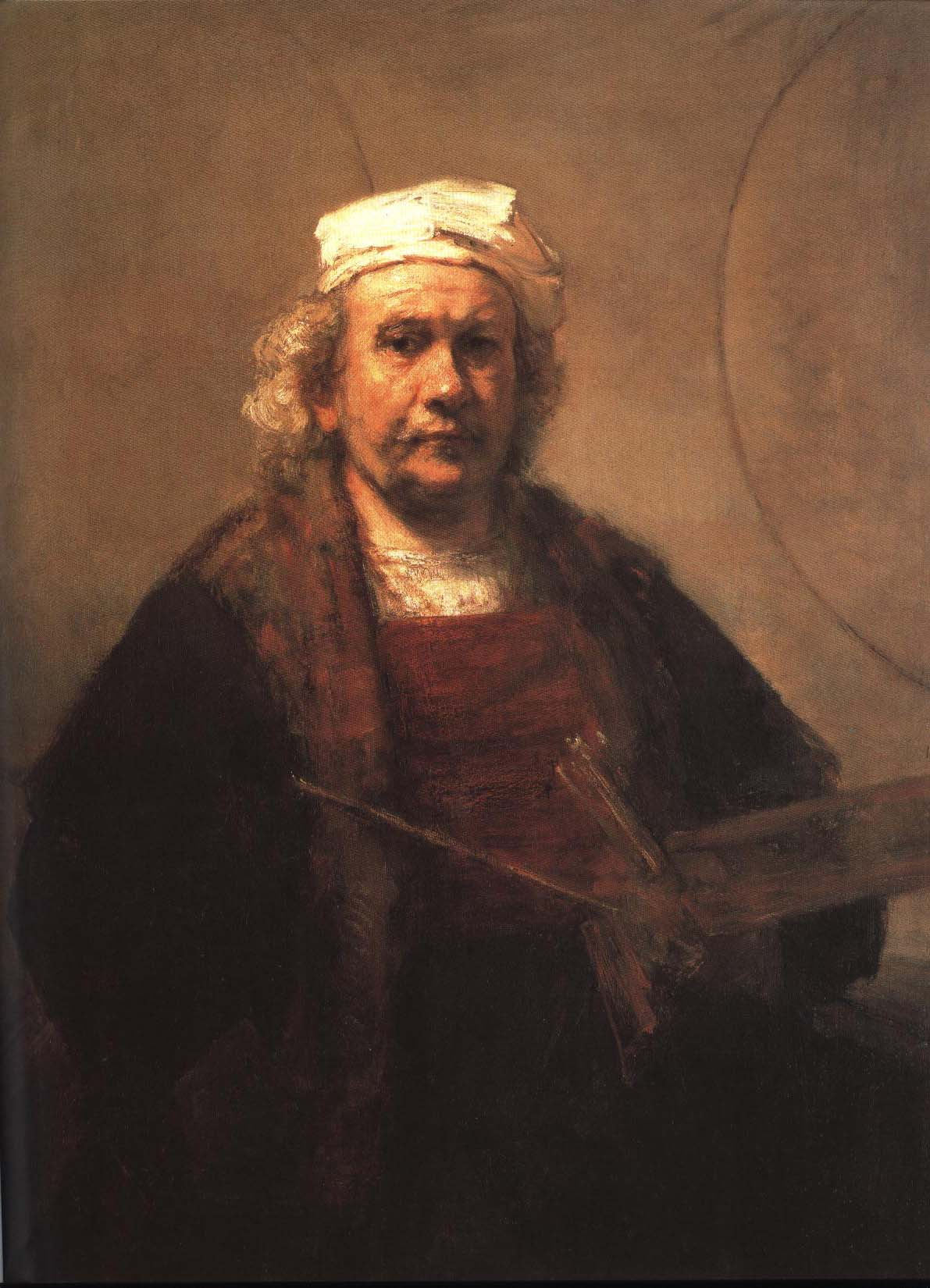 Self Portrait   Rembrandt Van Rijn   Oil Painting
