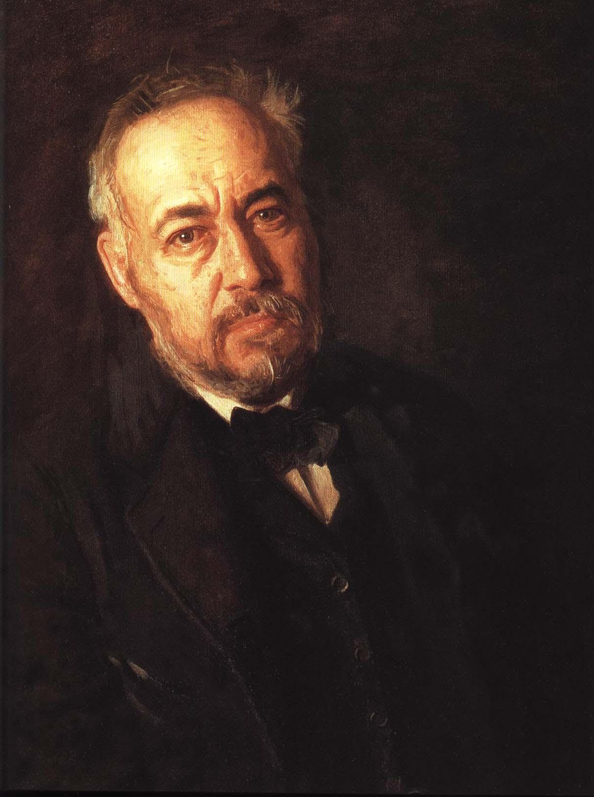Self Portrait | Thomas Eakins 1902 | Oil Painting