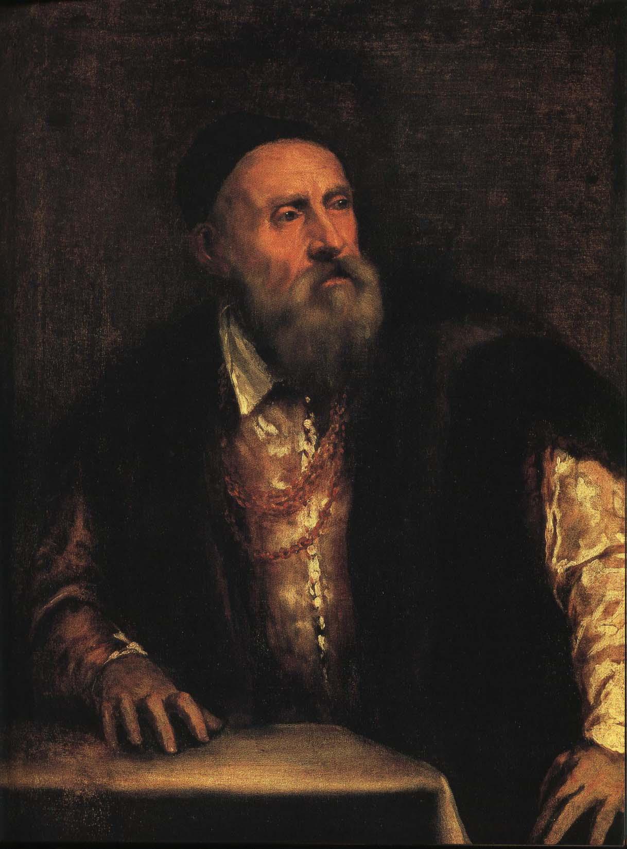 Self Portrait | Titian 1550-1560 | Oil Painting