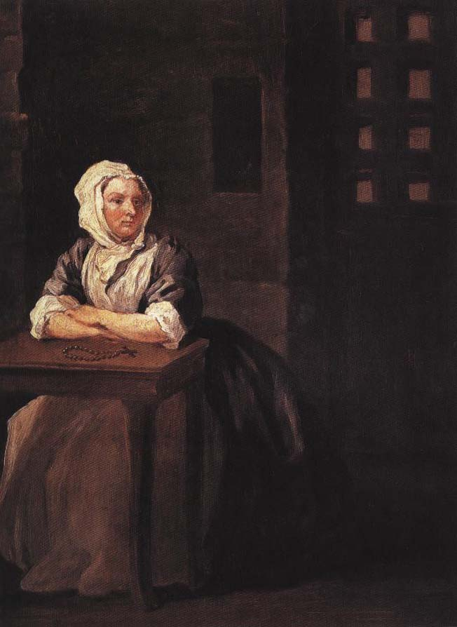 Portrait of Sarah Malcolm | William Hogarth 1733 | Oil Painting
