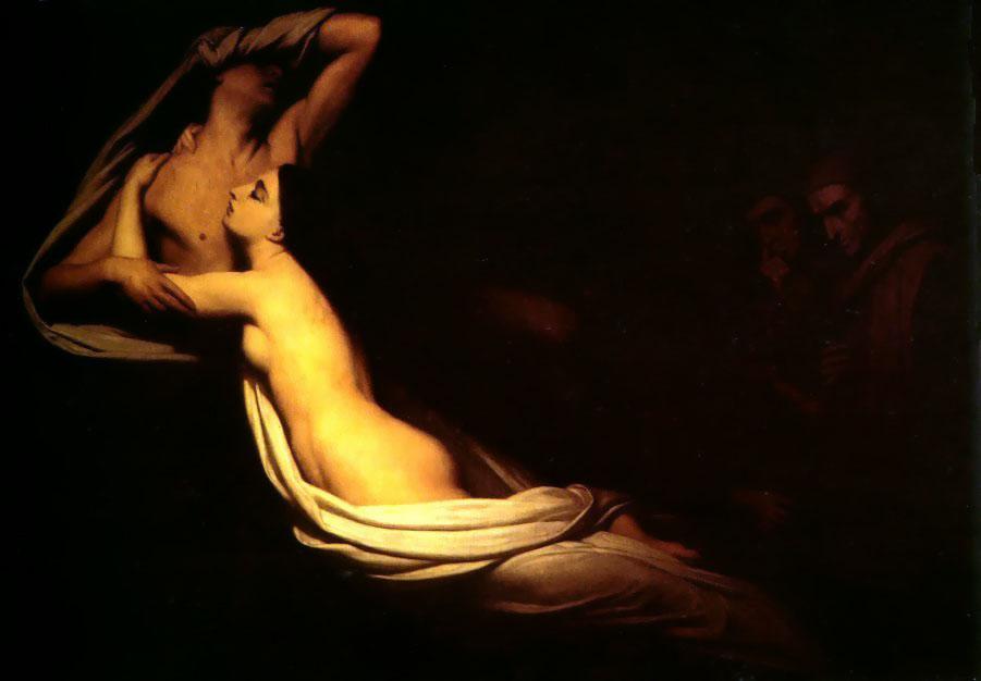 Francesca da Rimini 1835 | Ary Schefer | Oil Painting
