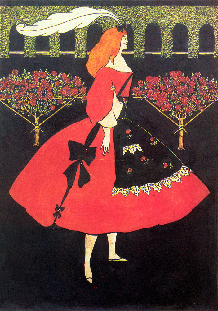 The Slippers Of Cinderella | Aubrey Beardsley | Oil Painting