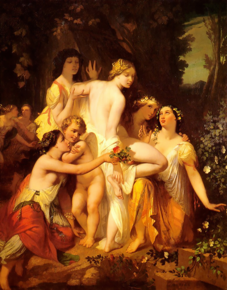 The Bath of Venus 1845 | Auguste Glaize | Oil Painting