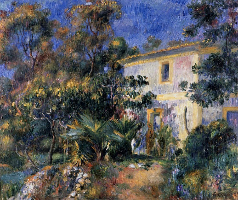 Algiers Landscape 1895 | Pierre Auguste Renoir | Oil Painting