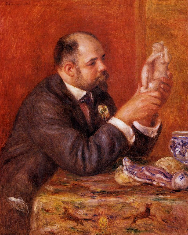 Ambroise Vollard 1908 | Pierre Auguste Renoir | Oil Painting