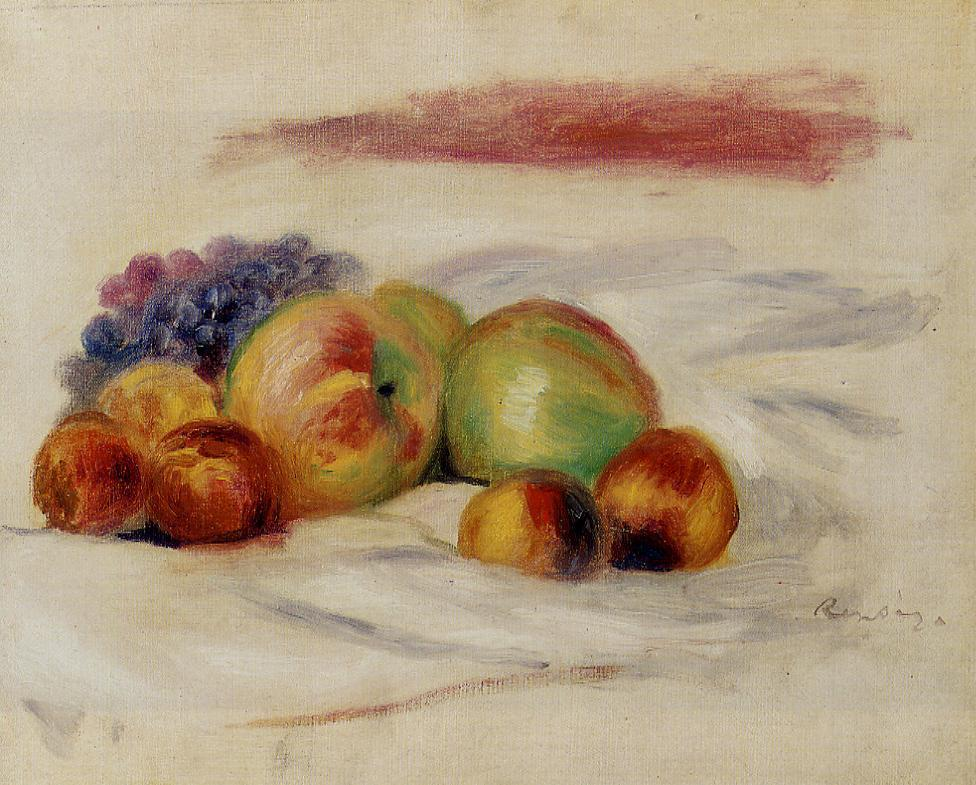 Apples and Grapes 1910 | Pierre Auguste Renoir | Oil Painting