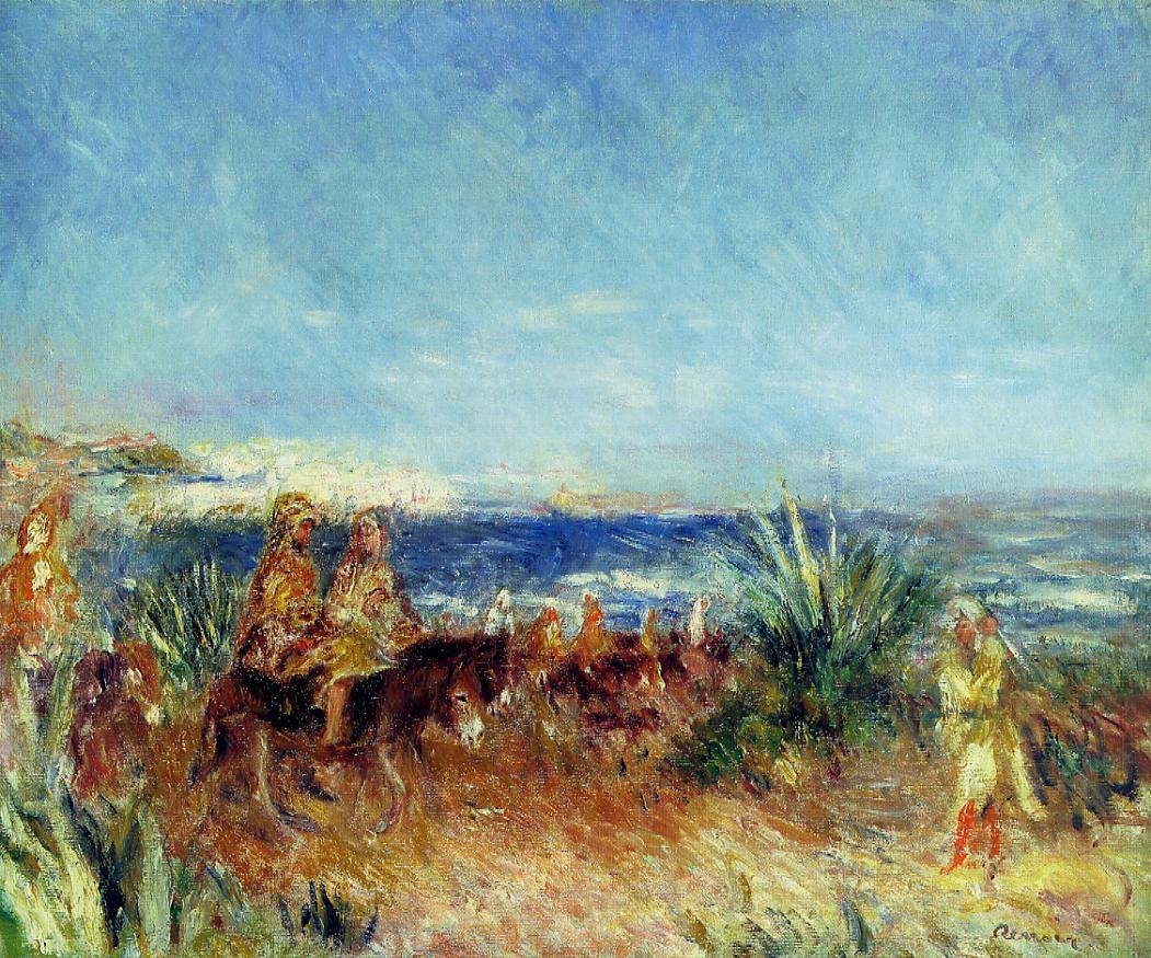 Arabs by the Sea | Pierre Auguste Renoir | Oil Painting