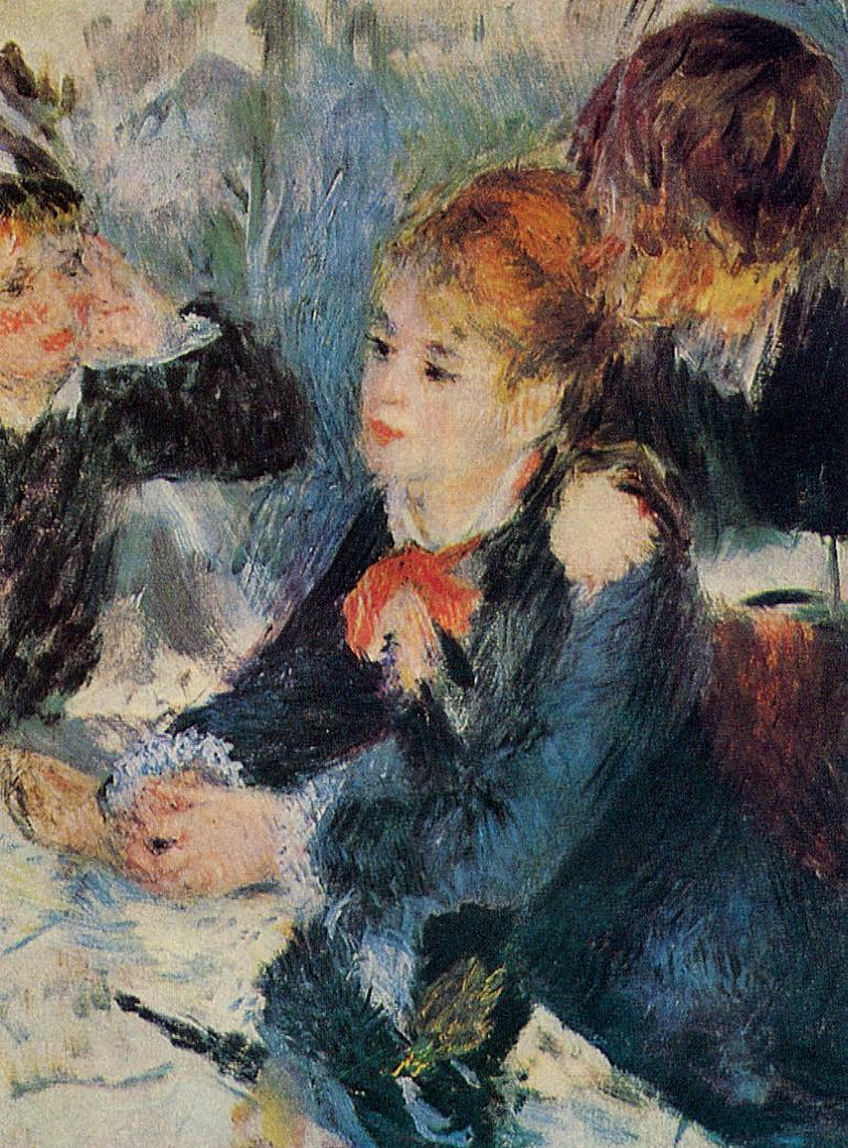 A the Milliners 1876 | Pierre Auguste Renoir | Oil Painting