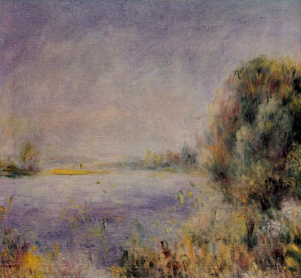 Banks of the River 1874-1876 | Pierre Auguste Renoir | Oil Painting