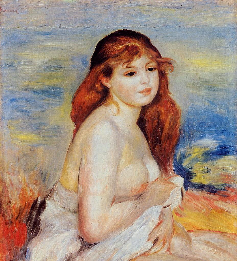 Bather1 1887 | Pierre Auguste Renoir | Oil Painting