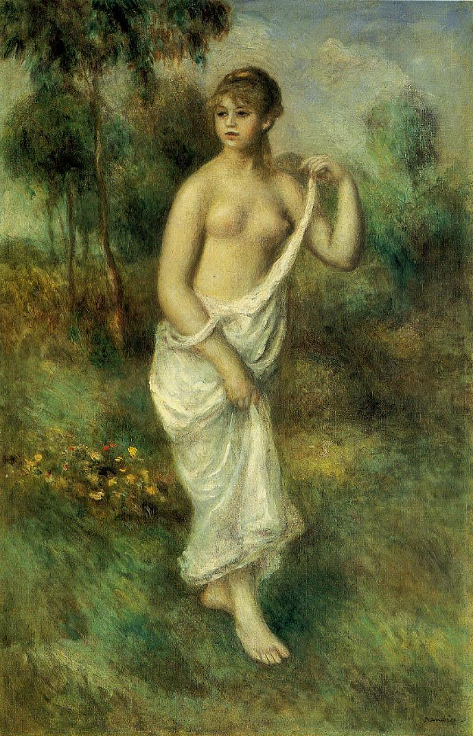 Bather2 1887 | Pierre Auguste Renoir | Oil Painting