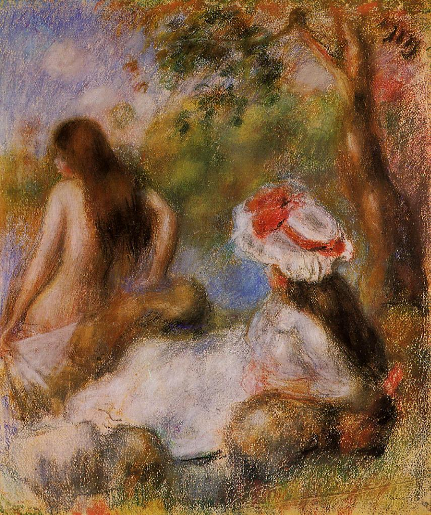 Bathers 1894 | Pierre Auguste Renoir | Oil Painting