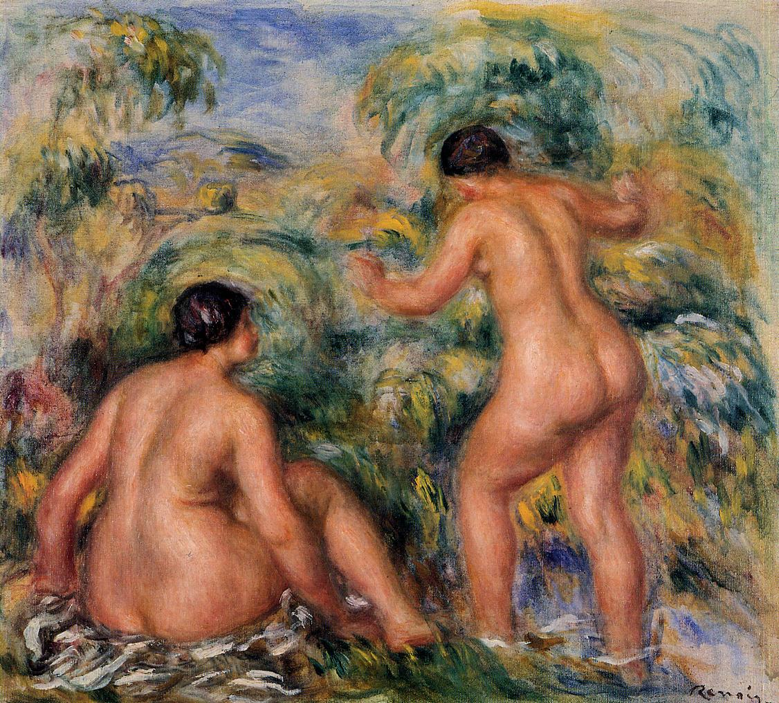 Bathers 1917 | Pierre Auguste Renoir | Oil Painting