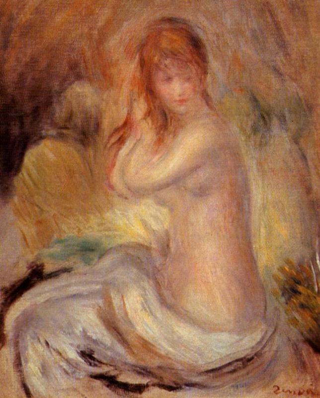 Bather 1889 | Pierre Auguste Renoir | Oil Painting