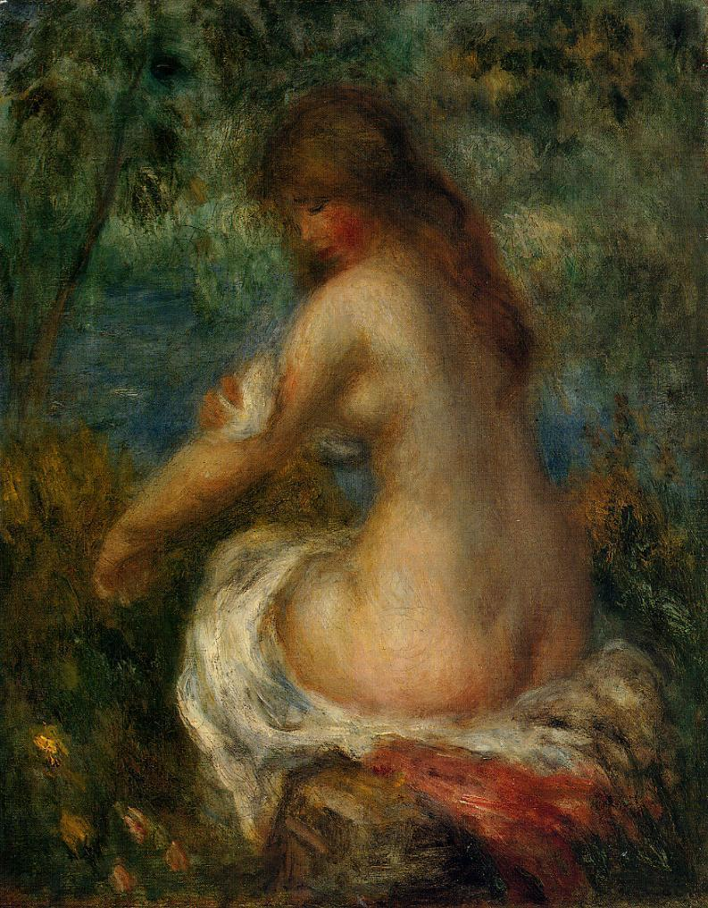 Bather 1905 | Pierre Auguste Renoir | Oil Painting
