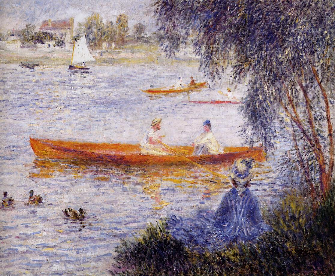 Boating at Argenteuil 1873 | Pierre Auguste Renoir | Oil Painting