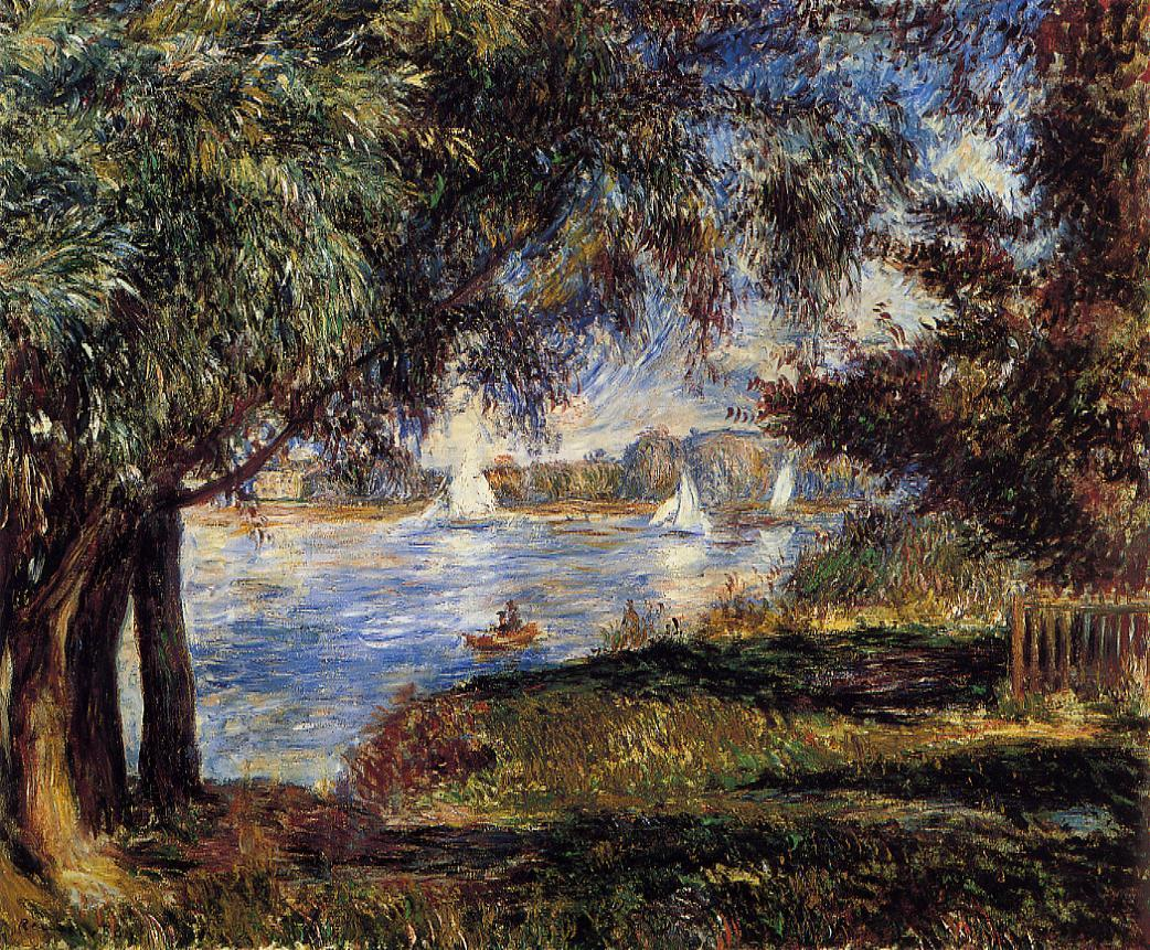 Bougival 1888 | Pierre Auguste Renoir | Oil Painting