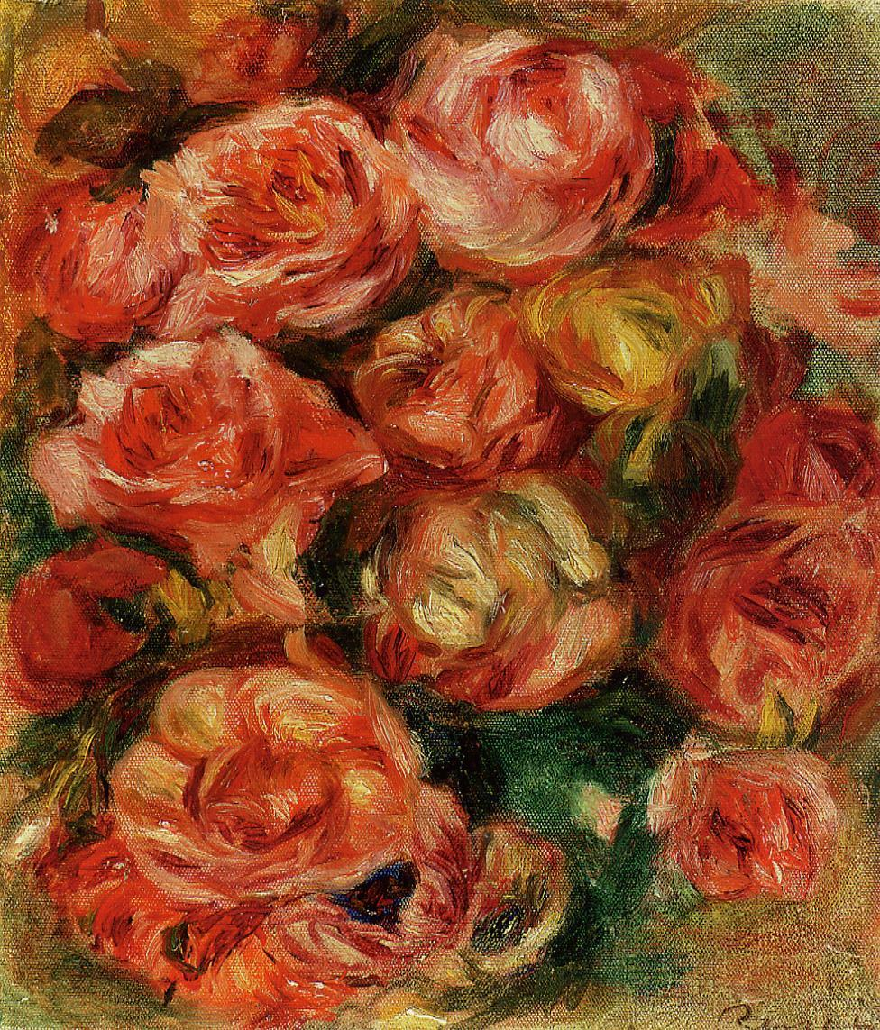 Bouquet of Flowers 1915 | Pierre Auguste Renoir | Oil Painting