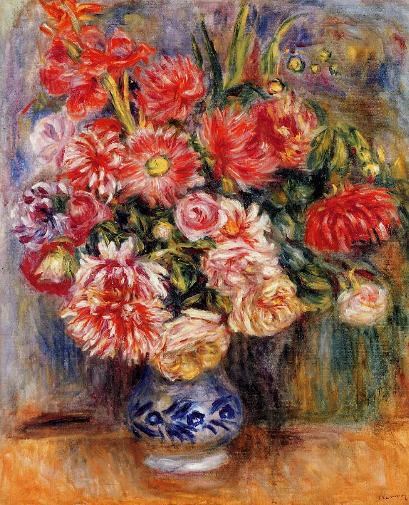Bouquet 1913 | Pierre Auguste Renoir | Oil Painting