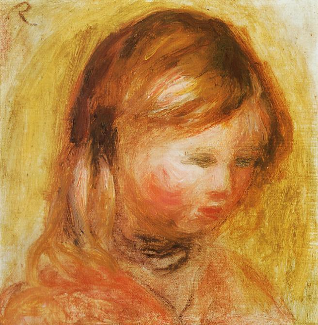 Young Girl 1905 | Pierre Auguste Renoir | Oil Painting