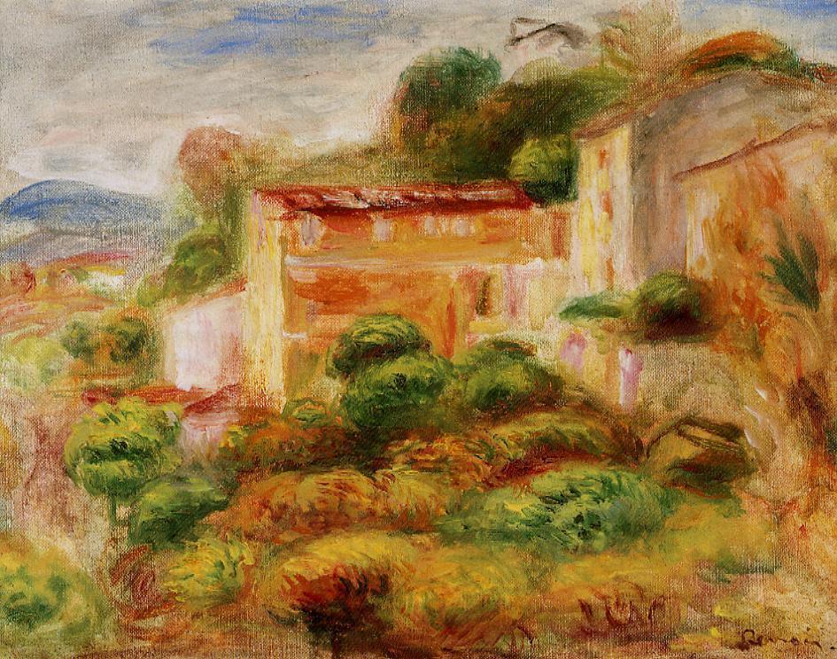 La Maison de la Poste 1907 | Pierre Auguste Renoir | Oil Painting