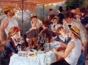 Luncheon of the Boating Party 1881 | Pierre Auguste Renoir | Oil Painting