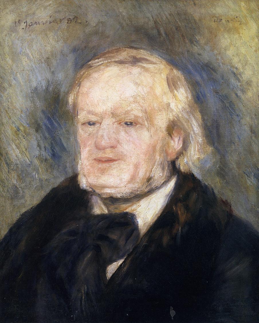 Richard Wagner 1882 | Pierre Auguste Renoir | Oil Painting