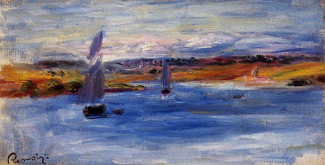 Sailboats 1885 | Pierre Auguste Renoir | Oil Painting