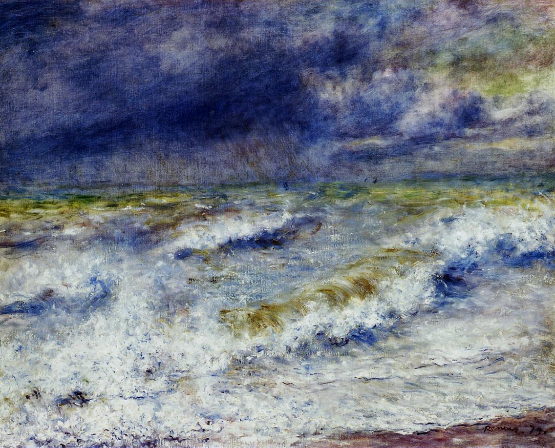 Seascape 1879 | Pierre Auguste Renoir | Oil Painting