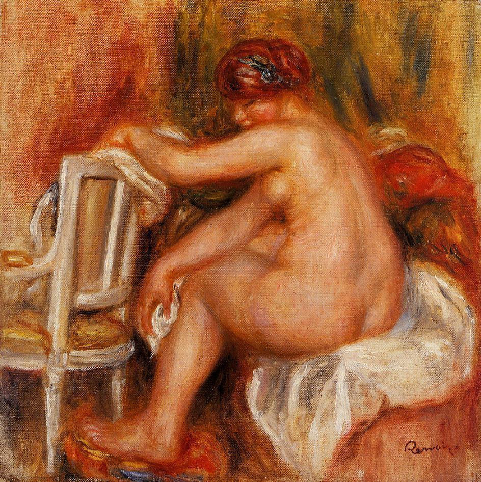 Seated Nude1 1913 | Pierre Auguste Renoir | Oil Painting