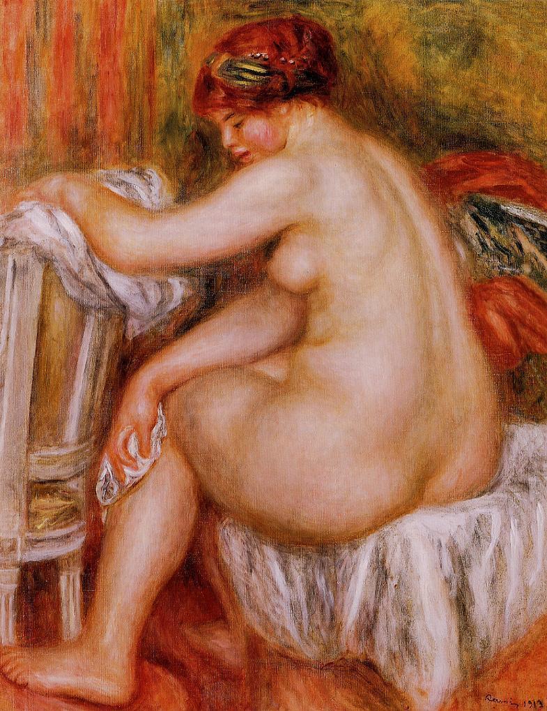 Seated Nude2 1913 | Pierre Auguste Renoir | Oil Painting