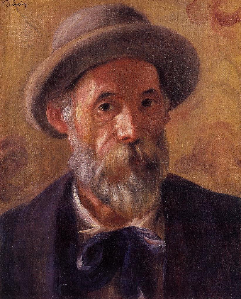 Self Portrait 1899 | Pierre Auguste Renoir | Oil Painting