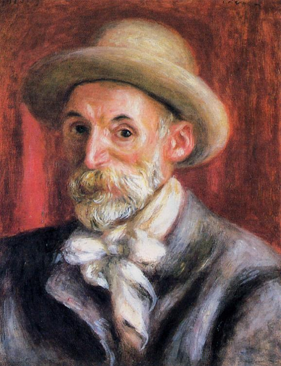 Self Portrait 1910 | Pierre Auguste Renoir | Oil Painting