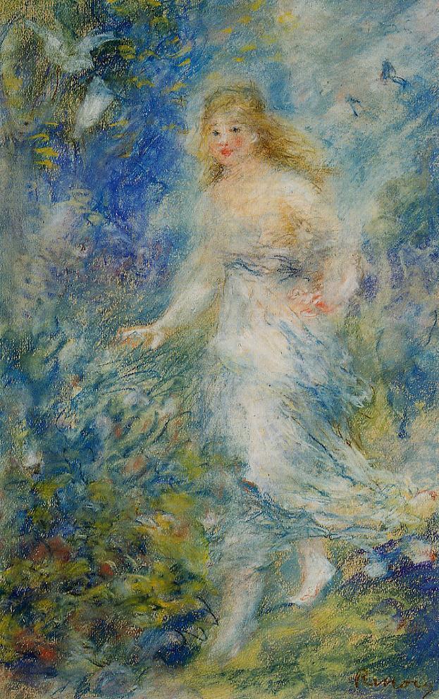 Spring (The Four Seasons) 1879 | Pierre Auguste Renoir | Oil Painting